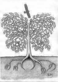 Roots tree eagle